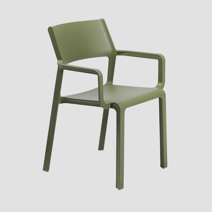 Trill Arm Chair - Olive Green