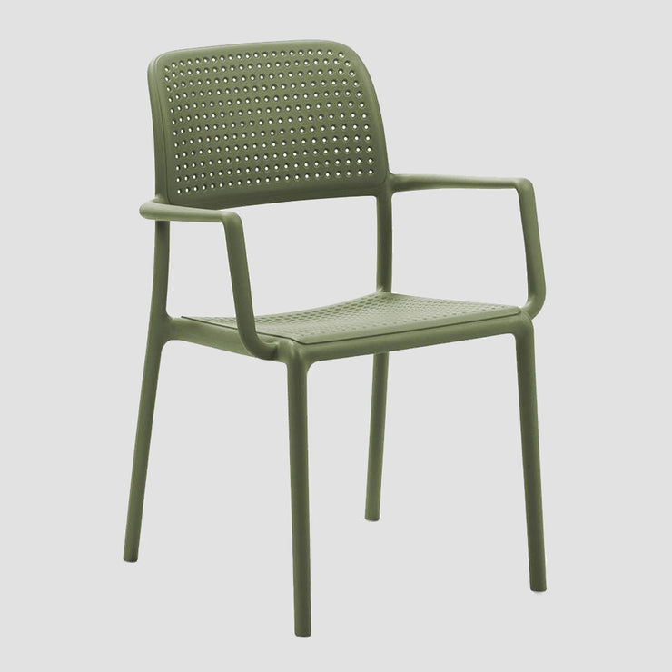 Bora Arm Chair - Olive Green