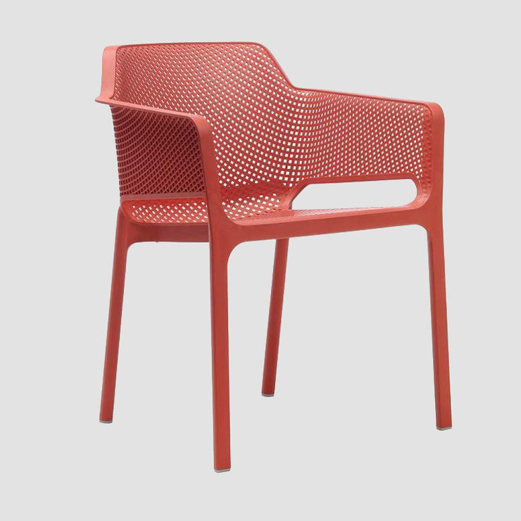 Net Armchair - Coral