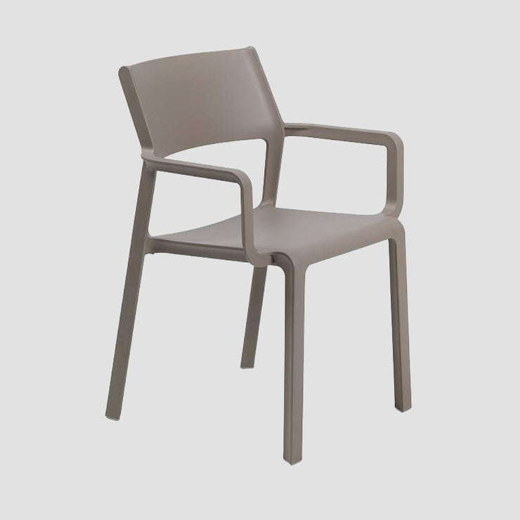 Trill Arm Chair - Taupe