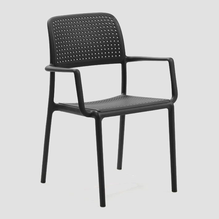 Bora Arm Chair - Charcoal