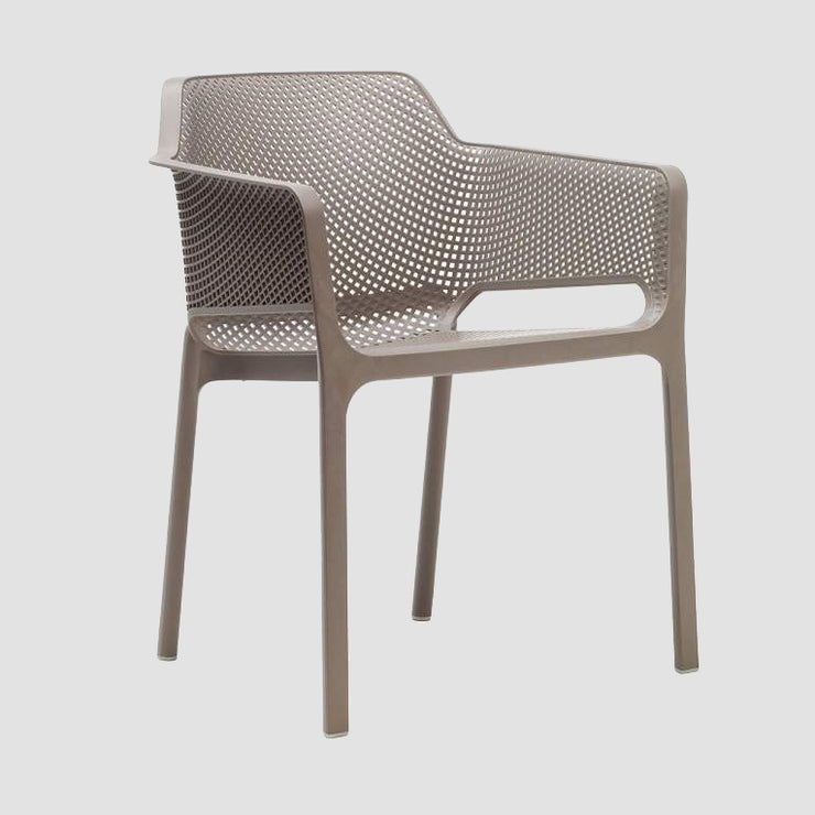 Net Armchair - Taupe