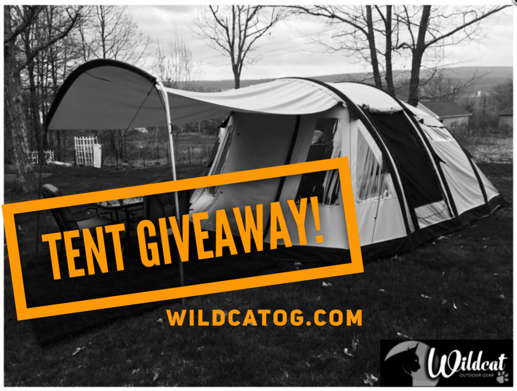 Tent Giveaway! Enter to Win