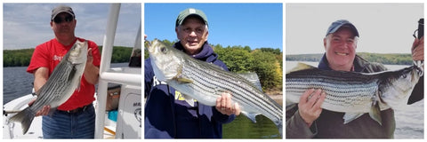 Zip Outdoors Striper Fishing