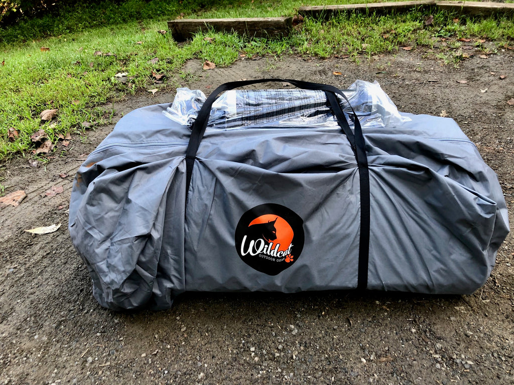 LYNX 640 Inflatable Camping Tent - Carrying Bag w/ Pump!