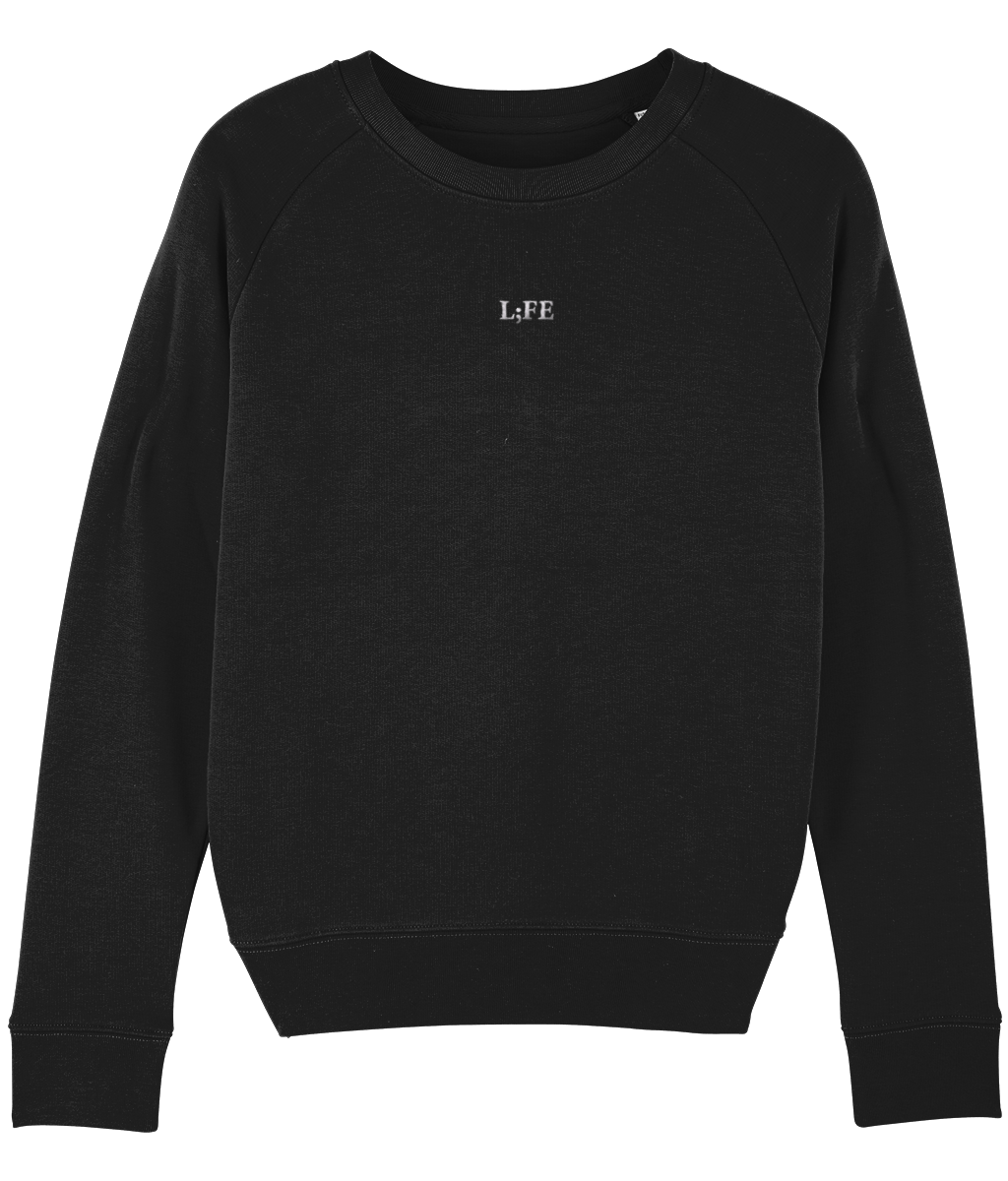 L;FE's Embroidered Womens Sweatshirt