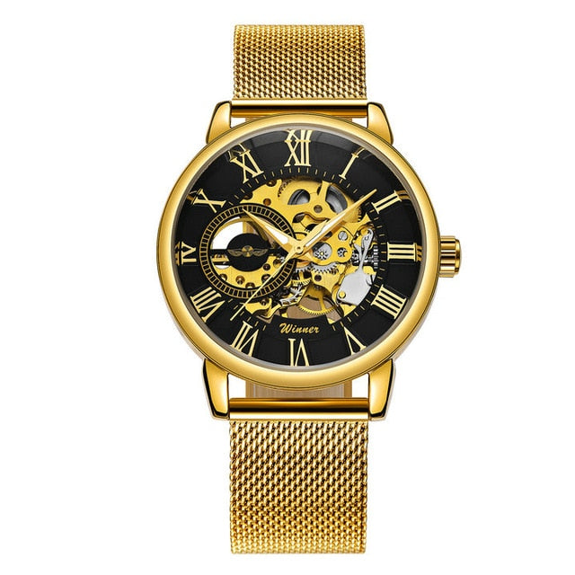 These mechanical watches are not meant for the ordinary or mundane. Our mechanical watches
