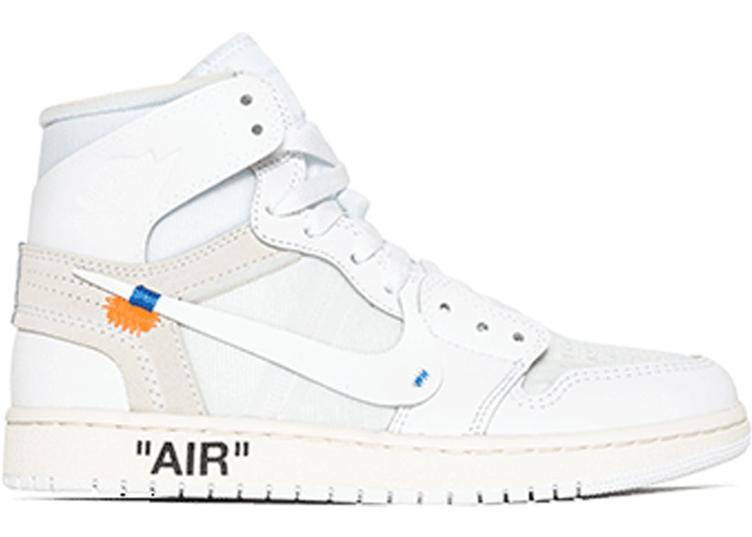 Jordan 1 - Off__White (All White)