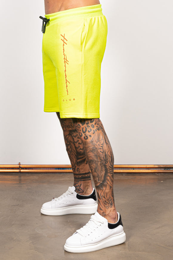 Men's Swift Shorts in Frozen Yellow