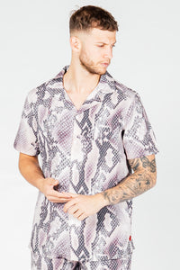 Men's Viper Shirt in Pink