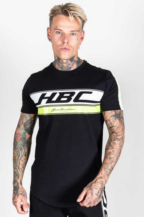 Men's Race T-Shirt in Black