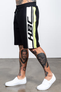 Men's Race Shorts in Black