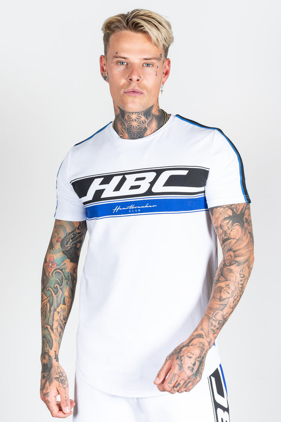 Men's Race T-Shirt in White
