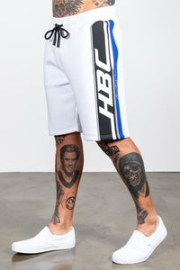 Men's Race Shorts in White