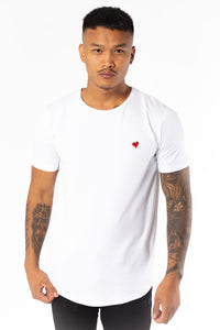 Heartbreaker Club Men's Tagged 1.0 T-Shirt in White