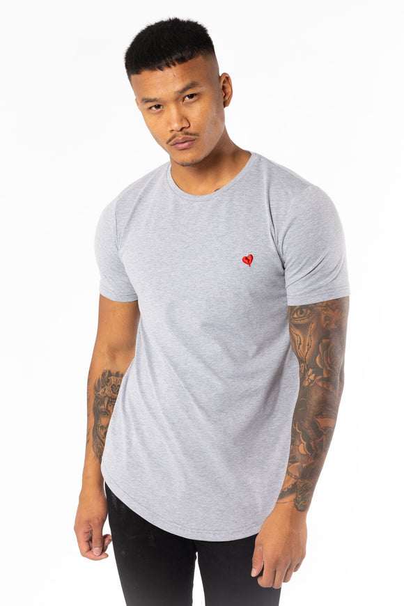 Men's Tagged T-Shirt in Grey