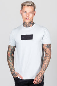 Heartbreaker Club Men's Split T-Shirt in Grey