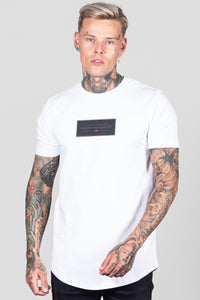 Heartbreaker Club Men's Split T-Shirt in White