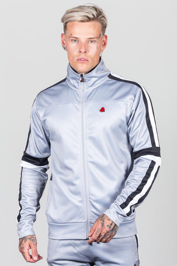 Men's Powers Track Top in Grey