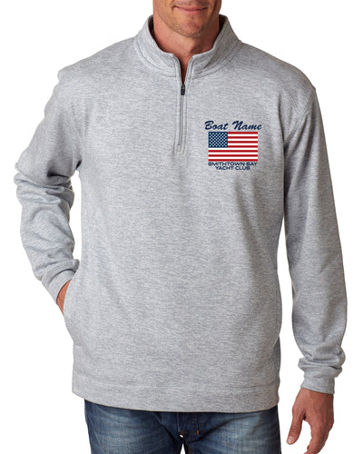 SBYC USA 1/4 Zip Pullover  Customize (JA8614)