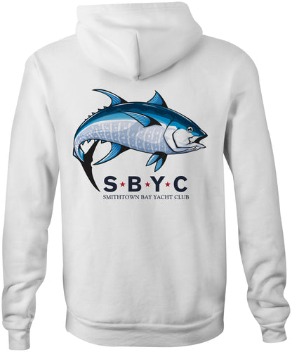 SBYC Big Fish Hoodie in White (F244)