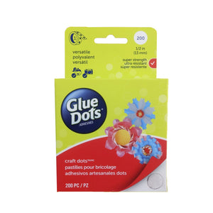 Rollo de gotas de adhesivo doble cara Glue Dots removible