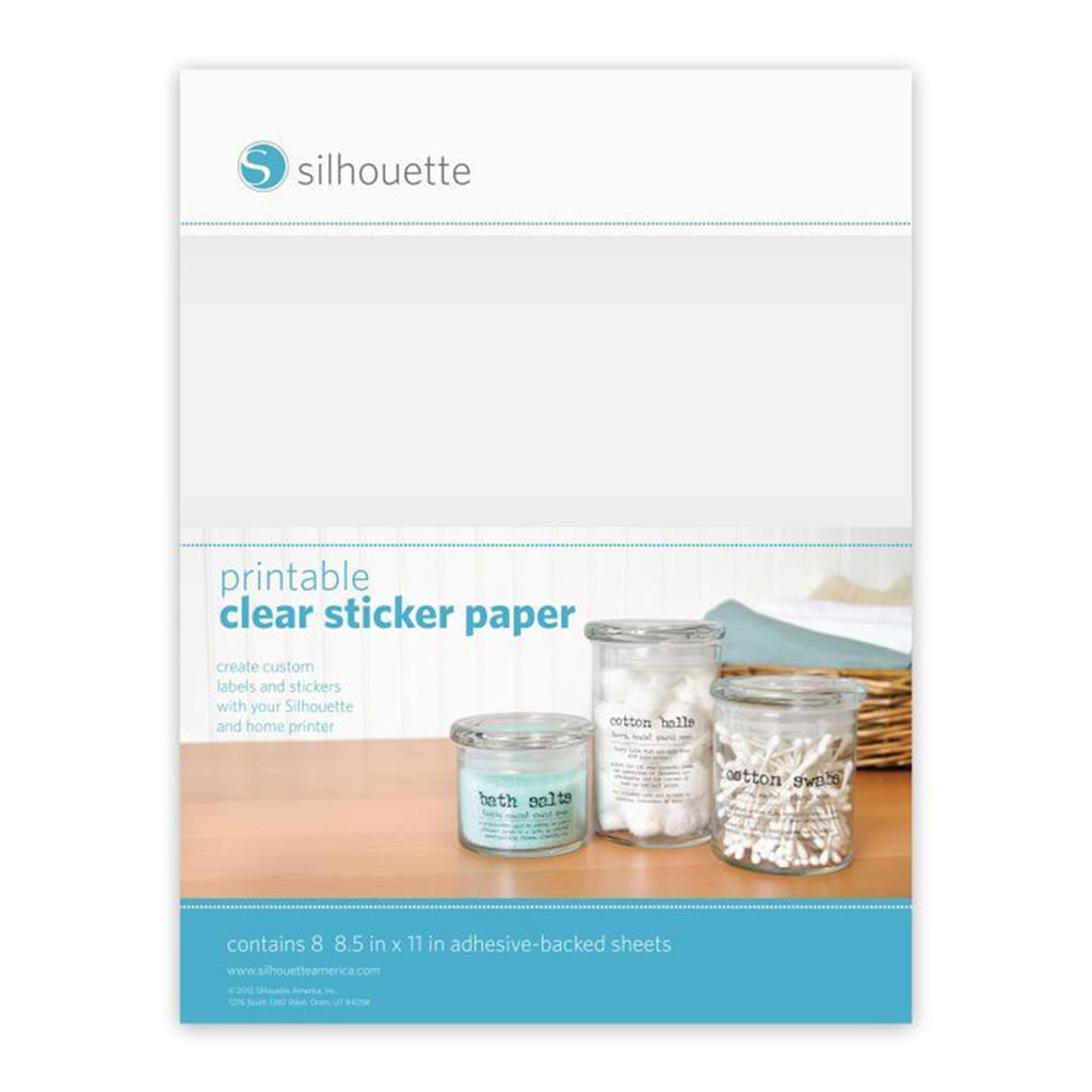 Papel adhesivo imprimible Silhouette - Lideart