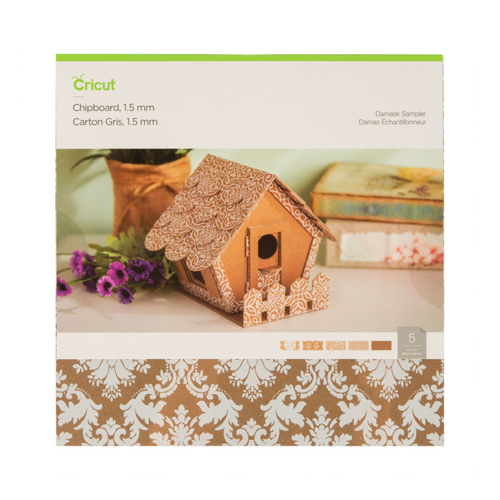 Hojas de cartón damasco para Cricut Maker 1.5 mm | Cricut materiales - Lideart - Avanceytec