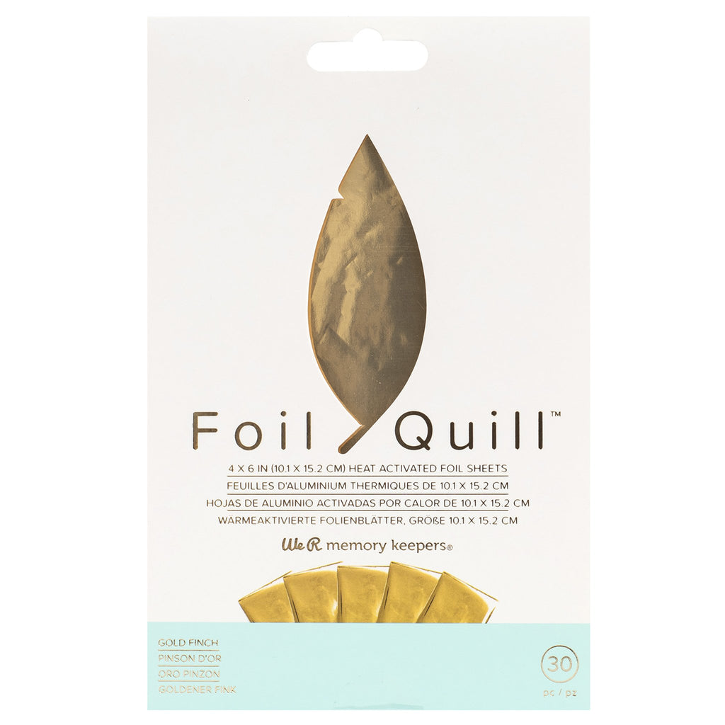 Paquete de foil color oro Foil Quill Hot stamping - lideart - avanceytec
