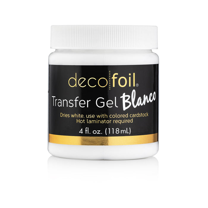 Gel Blanco Deco Foil 4 Oz