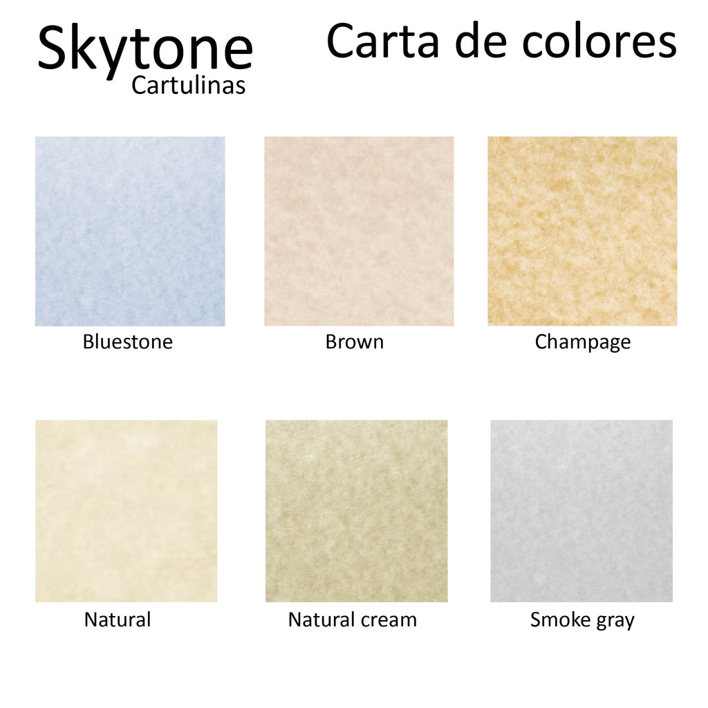 Papel Skytone 58 x 89 cm Papeles y cartulinas - lideart - avanceytec