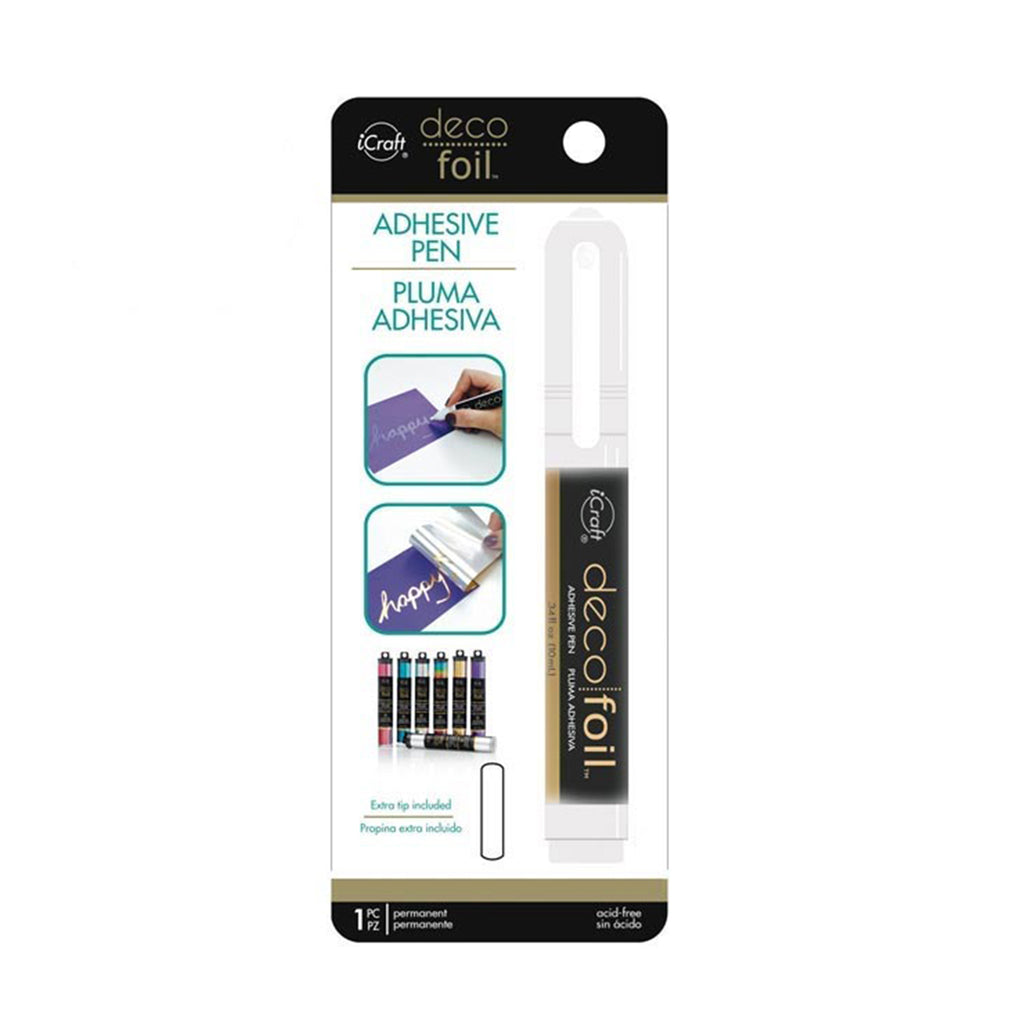 Pluma Adhesiva Deco Foil .34 Oz | Hot stamping - Lideart - Avanceytec