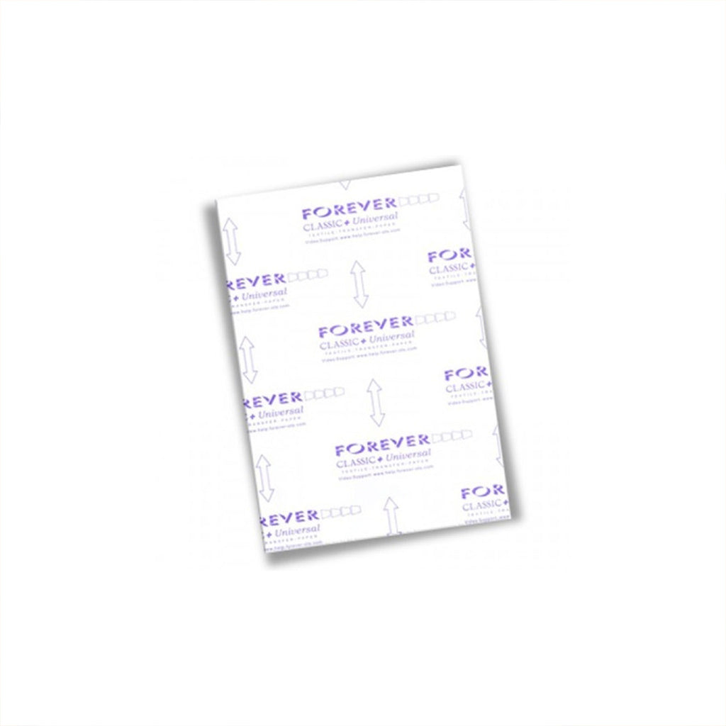 Papel De Transferencia Laser Clasico Forever A4 | Papeles transfer - Lideart - Avanceytec