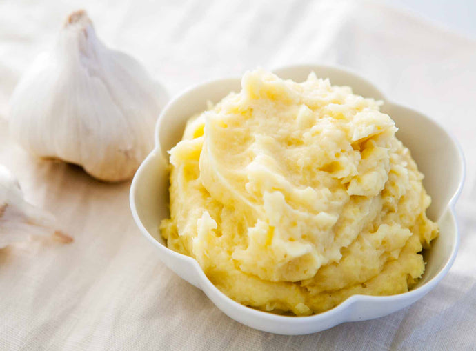 Our Secret Ingredient for Making Creamy Garlic Mashed Potatoes