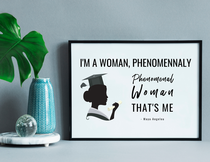 Phenomenal Woman - (Digital Self-Print)