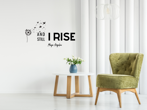 Still I Rise Wall Decal - 24x18