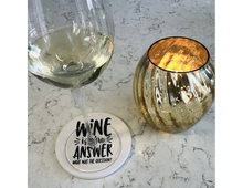 Load image into Gallery viewer, Quotable Wine Coasters
