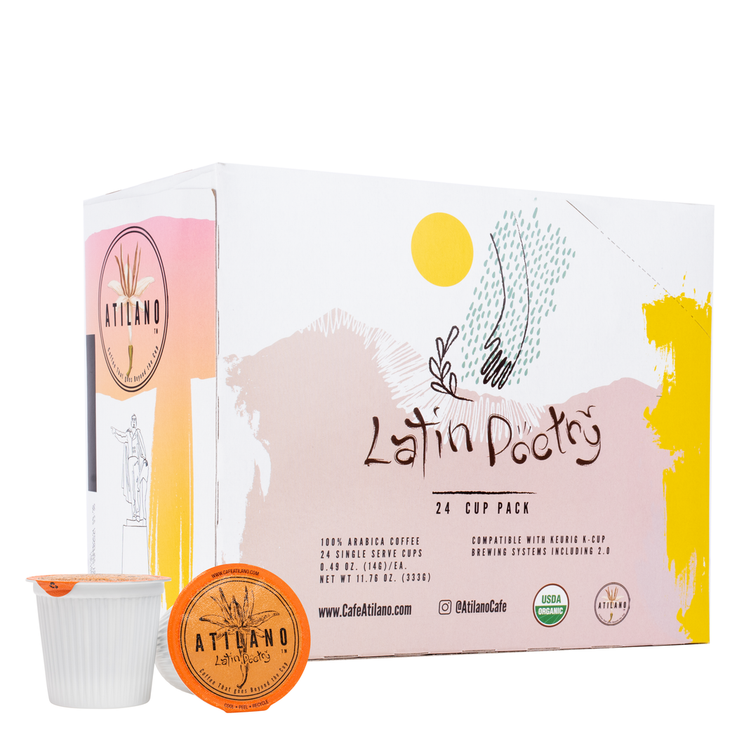 Latin Poetry, Organic 24 Ct. Single Serve Pack