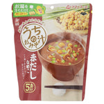 AMANO, Dark-Brown Miso Soup with Nameko Mushrooms, Instant 5 servings 1.08oz-AMANO-Price JPN