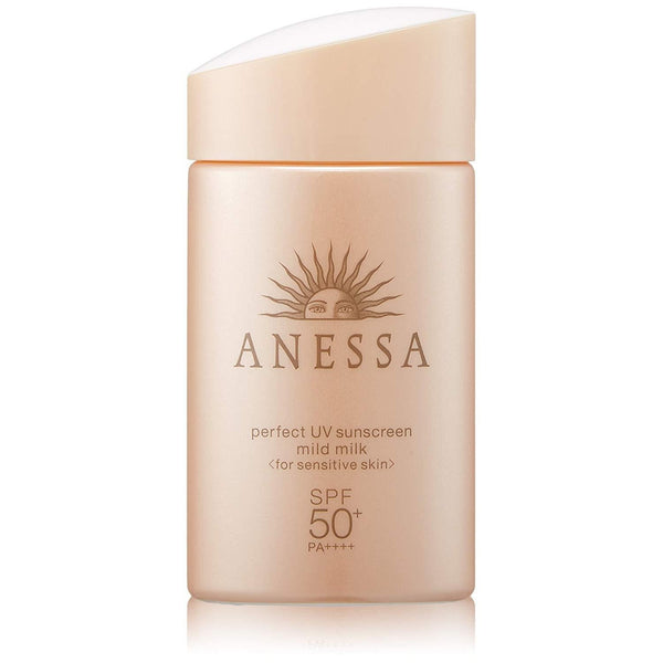 ANESSA perfect UV sunscreen mild milk SPF50+/PA++++ 2us fl oz (60mL)-SHISEIDO-Price JPN