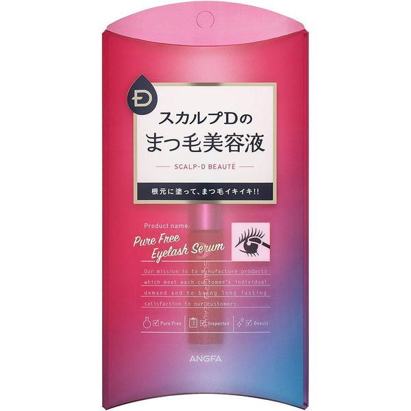 ANGFA SCALP-D BEAUTE Pure Free Eyelash Serum, 0.2us fl oz (6ml)-ANGFA-Price JPN