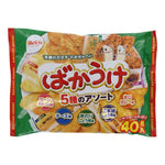 "Befco Rice Crackers ""BAKAUKE ASSORT"" 40 pieces-Befco-Price JPN"