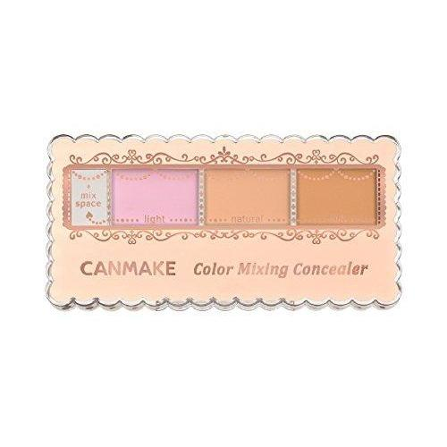 CANMAKE Color Mixing Concealer, C11 Pink & Light Beige, 0.14oz-CANMAKE-Price JPN