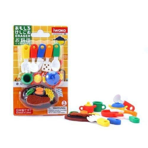Iwako Pencil Eraser Set - Kitchen-Iwako-Price JPN