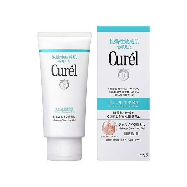 Kao, Curel Makeup Cleansing Gel, 4.58oz-Kao-Price JPN