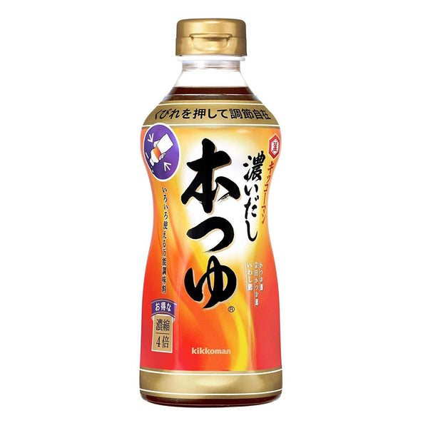"kikkoman, Multipurpose Sauce, Rich Soup Stock ""Hontsuyu"", 17.6oz-kikkoman-Price JPN"