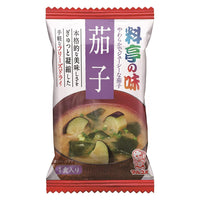 "Marukome, Miso Soup with Eggplant, ""Traditional Japanese-style restaurant Flavor"" Instant 1 servings 0.28oz-Marukome-Price JPN"