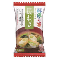 "Marukome, Miso Soup with Japanese Leek, ""Traditional Japanese-style restaurant Flavor"" Instant 1 servings 0.25oz-Marukome-Price JPN"