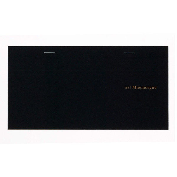 Maruman Mnemosyne Hardcover Executive Notebook, 3.54 in x 7.95 in, Glue & Staple, Special ruled (N163)-Maruman-Price JPN