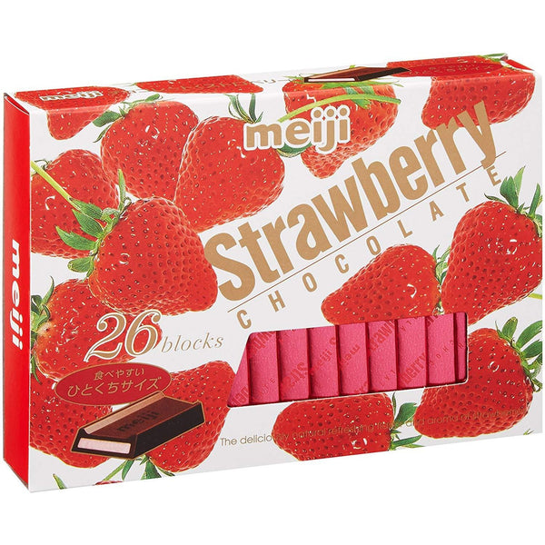 Meiji, Strawberry Chocolate, 26 blocks-meiji-Price JPN